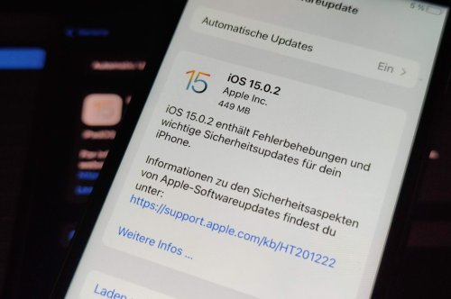 iOS 15.0.2 – sollte man das iPhone-Update installieren?