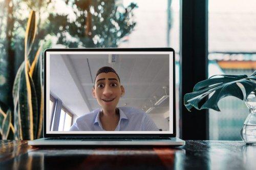 In Videokonferenzen als Cartoon-Figur erscheinen