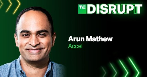 Join Accel's Arun Mathew at TechCrunch Disrupt in our debate around alt-financing