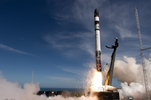 Rocket Lab prepares to recover second booster at sea after May 15 launch