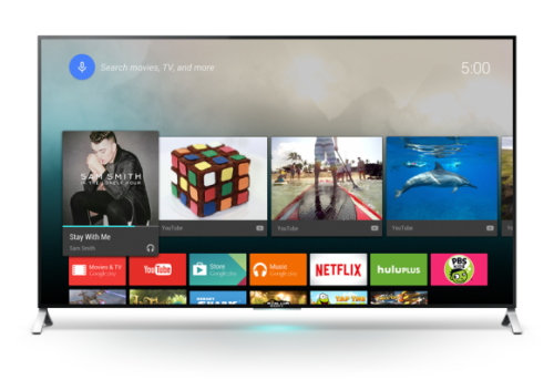 Google's Android TV Will Power Sets From Sony, Sharp, and Philips Beginning This Spring