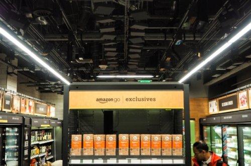 Inside Amazon's surveillance-powered, no-checkout convenience store