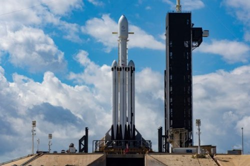 SpaceX's Falcon Heavy rocket to deliver an Astrobotic lander and NASA water-hunting rover to the Moon in 2023