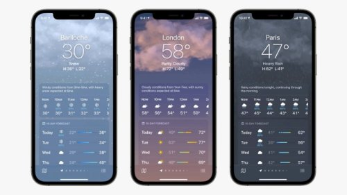 Apple (finally) updates its weather app with dynamic backgrounds, maps and way more data