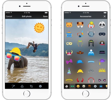 Twitter adds stickers to photo uploads