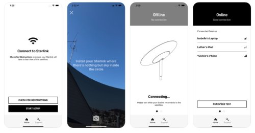 SpaceX launches Starlink app and provides pricing and service info to early beta testers