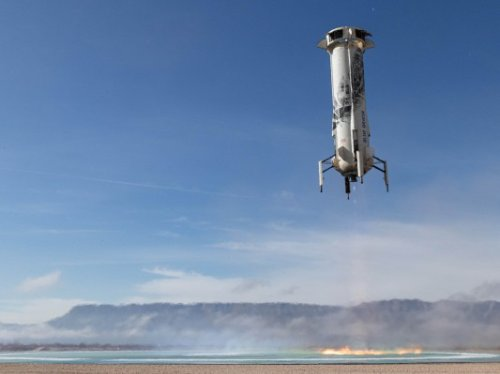 Blue Origin targets this Thursday for New Shepard reusable rocket launch with NASA landing system test