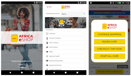 DHL launches Africa eShop app for global retailers to sell into Africa
