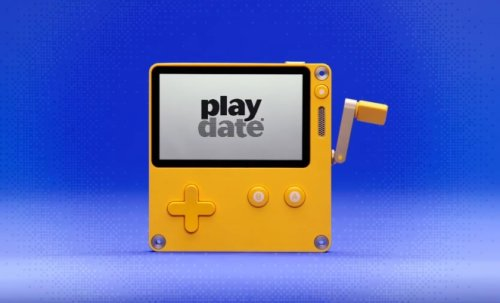 Tiny handheld Playdate preorders open next month for $179, with 24 charming monochrome games to start