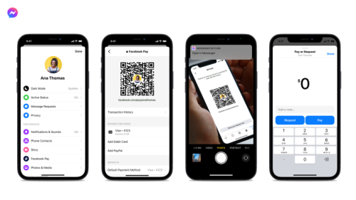 Messenger adds Venmo-like QR codes for person-to-person payments in the U.S.