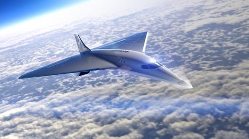 Virgin Galactic debuts design of future Mach 3 high-speed aircraft, signs deal with Rolls-Royce