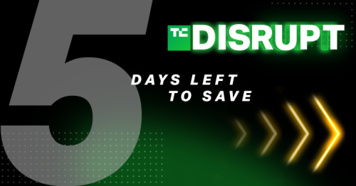 It's the final homestretch to score a $99 pass to TC Disrupt 2021