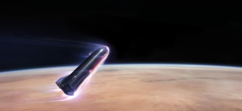 Elon Musk says SpaceX will attempt uncrewed Mars flight in two years, human landing in four to six