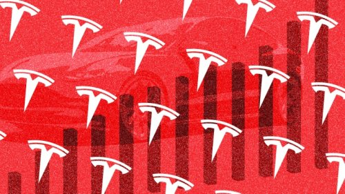 Tesla grows 74% in the first quarter, besting expectations as its shares ease after hours
