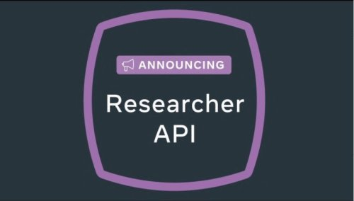 Facebook to launch a 'Researcher API' for the academic community