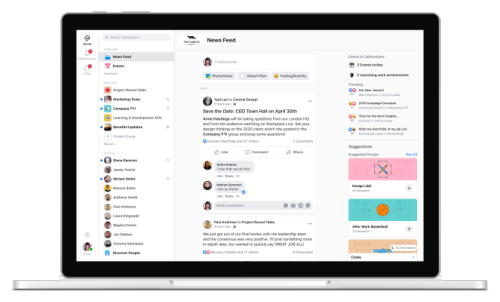 Workplace, Facebook's enterprise edition, gets a reboot to boost activity and cut down on noise