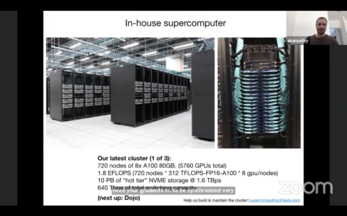 Tesla backs vision-only approach to autonomy using powerful supercomputer