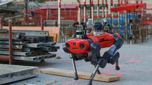 ANYbotics, Swiss company behind quadrupedal ANYmal robot, announces $22M A round