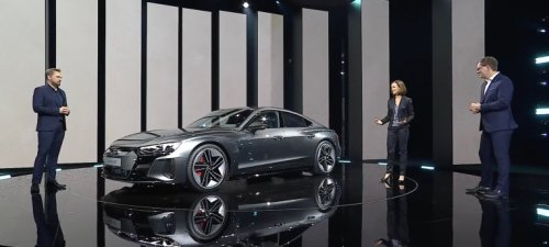 Audi's new 2022 e-tron GT is a real electric performance sedan, not just another electrified crossover