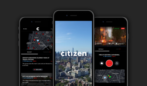 Banned crime reporting app Vigilante returns as Citizen, says its 'report incident' feature will be pulled