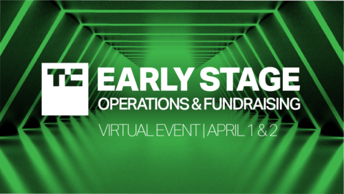 Announcing the agenda for TC Early Stage - Operations & Fundraising