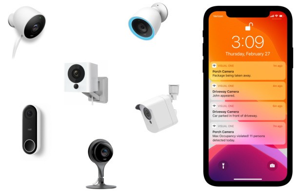Visual One smartens up home security cameras with object and action recognition