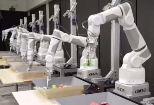 Google is using machine learning to teach robots how to grasp random objects