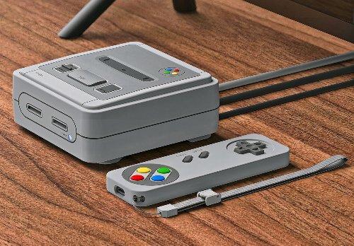 Elago's T4 Apple TV Case Turns the Device Into a Miniature Super Nintendo Entertainment System Console