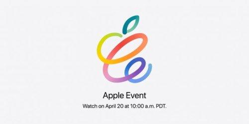 Apple confirms its next event on April 20