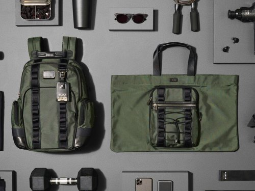 New TUMI Alpha Bravo Backpacks are Green in More Ways than One