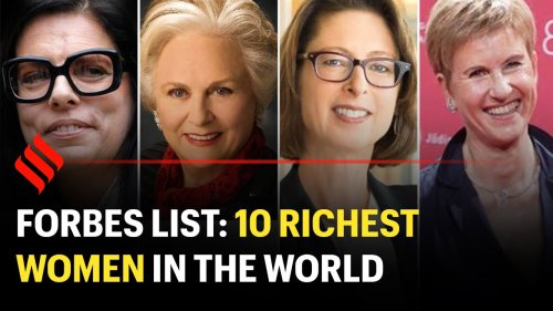 Top 10 Richest Women In The World In 2021