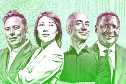 The Richest People in the World in 2021 According to Forbes