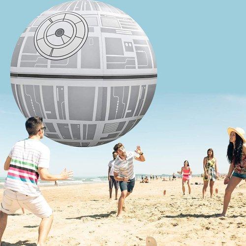 Giant 6-Foot Death Star Beach Ball: That's No Moon