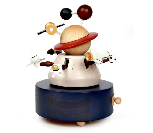 This Outer Space Music Box Is Out of This World