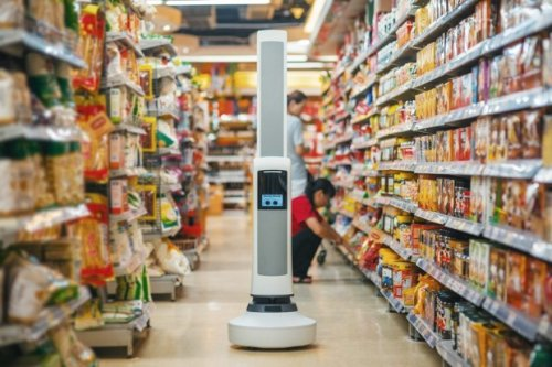 This Robot Keeps Store Shelves Stocked