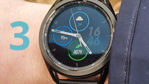 Samsung Galaxy Watch 3 im Test: Die beste Android-Smartwatch