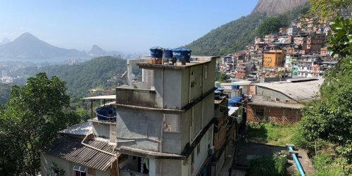 Rio de Janeiro is making the first digital map of one of Brazil's largest favelas