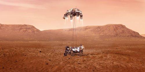 NASA's Perseverance rover has landed on Mars