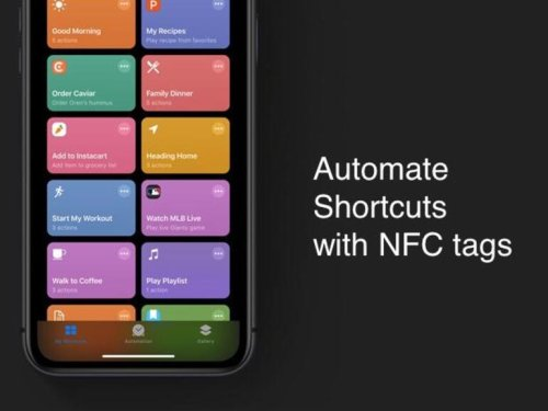 How to use NFC tags in the iOS 13 Shortcuts app