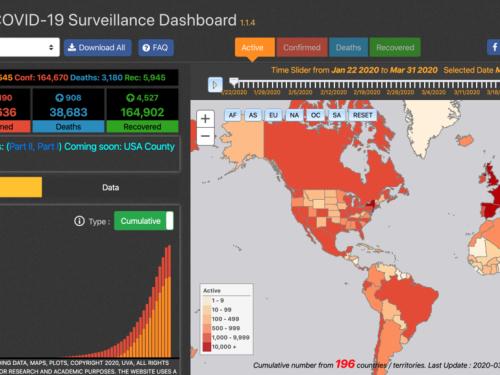 Coronavirus Maps cover image