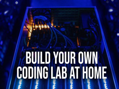 Tech projects for IT leaders: Build your own home lab to experiment or try home automation