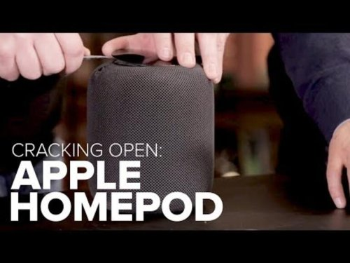 Cracking Open the Apple HomePod reveals a mix of iPhone chips