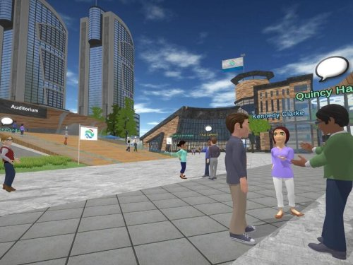 One company's virtual reality approach could end the debate over working from home