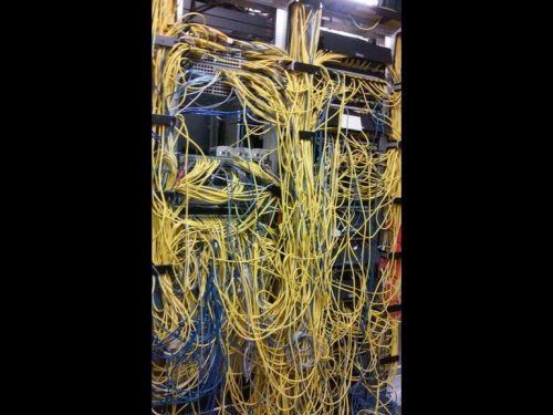 Gallery: The most nightmarish server rooms out there