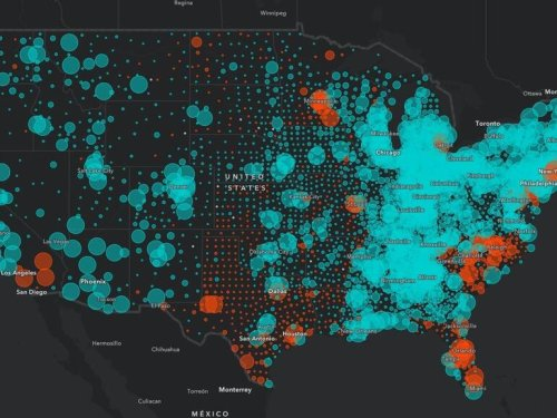 GeoSpark Analytics uses 6.8 million data sources to track global threats every 15 minutes