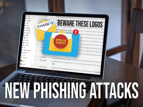 Phishing attacks imitate Wells Fargo and Chase the most