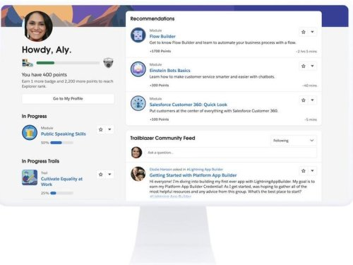 """Salesforce wants people to """"learn, earn and connect"""" on one platform with new Trailblazer Community"""