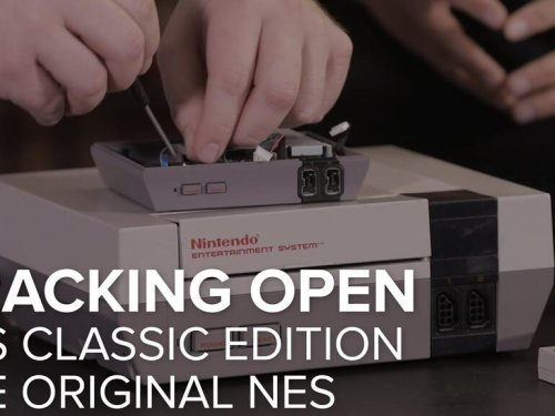 Cracking open Nintendo's NES Classic Edition game console