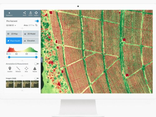 Drone technologies could increase farmers' productivity by 500 percent