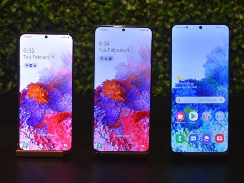 Samsung's Galaxy S20 versus the Galaxy Note 10